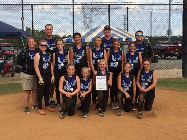 12U Liberty Black win Potomack River Clash
