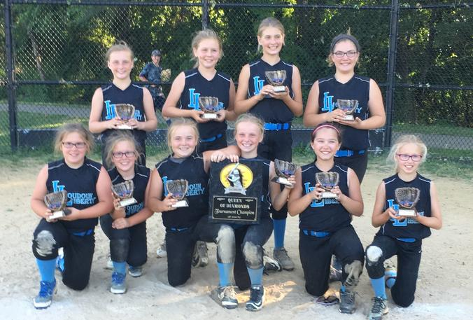 10U Liberty Queen of Diamonds Champions