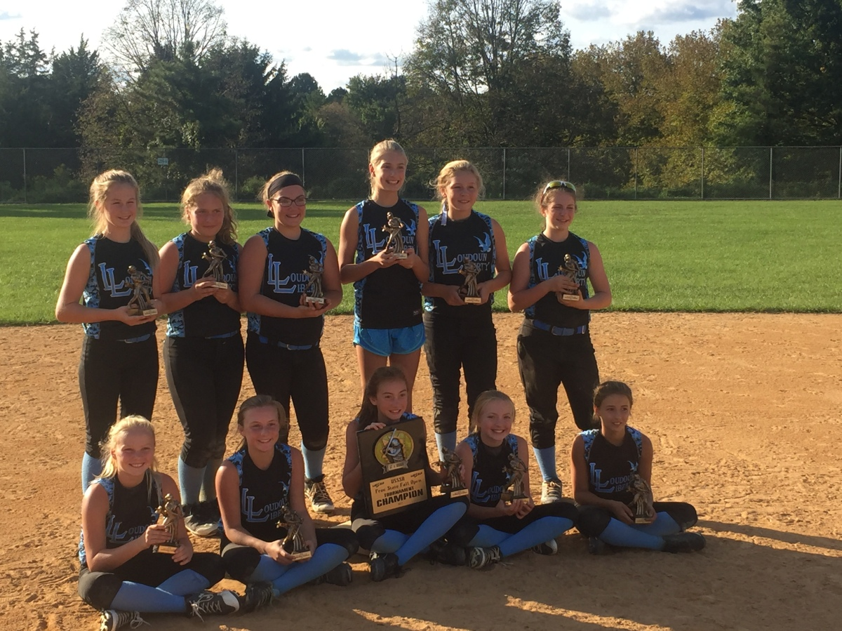 Loudoun Liberty 12U Blue wins Free State Fall Open