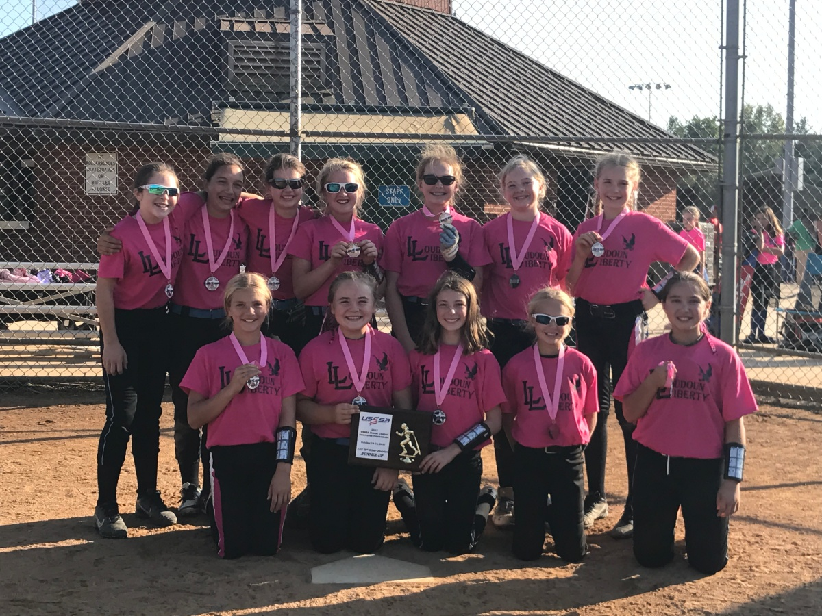 Liberty 12U Black take Silver Bracket Runner-Up in Breast Cancer Tournament