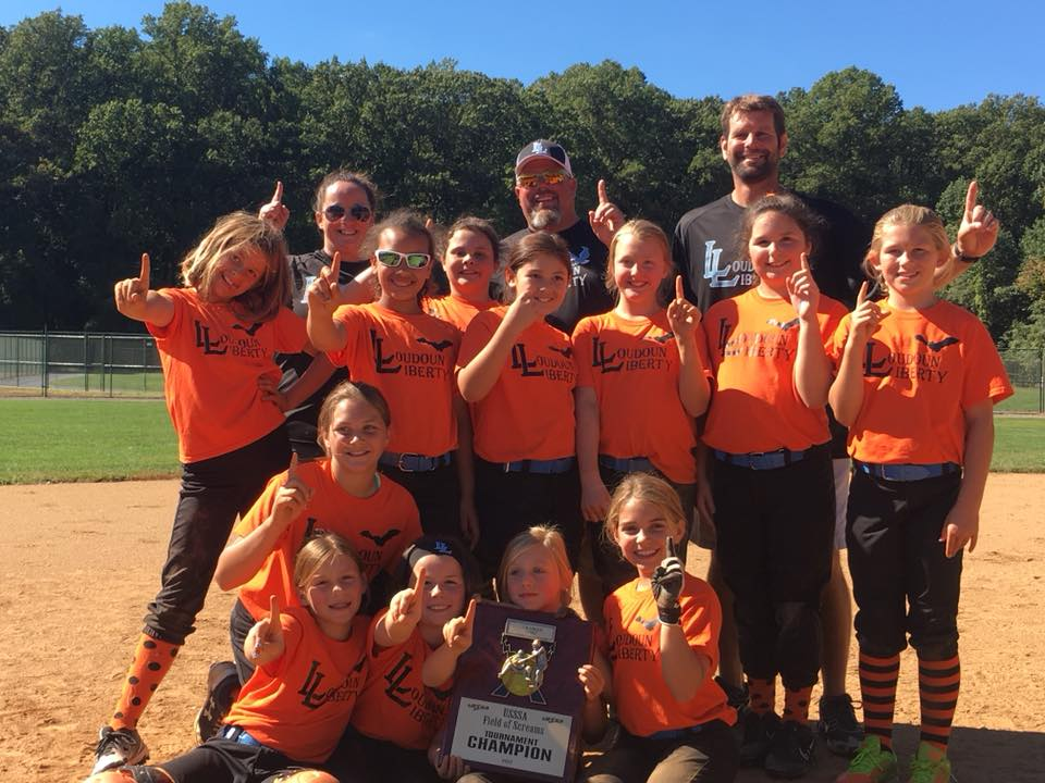 10U Liberty Gets First Tournament Championship at Field of Screams