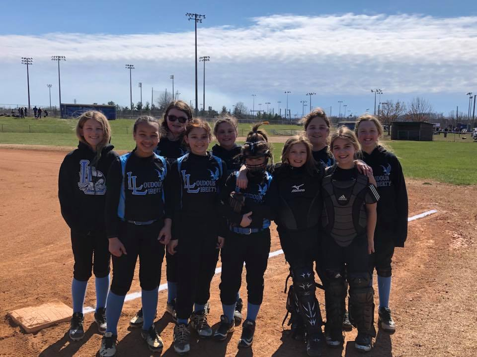 Liberty 10U Kicks off the Season