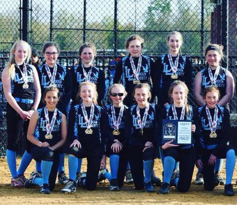 12U Blue Finalists in Crabtown Crackdown