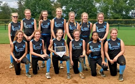 14U Blue Potomac River Clash runners up