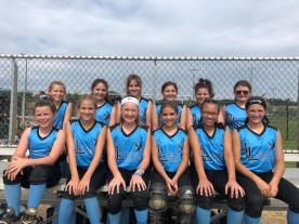 12U Blue is ready to take on the competition!