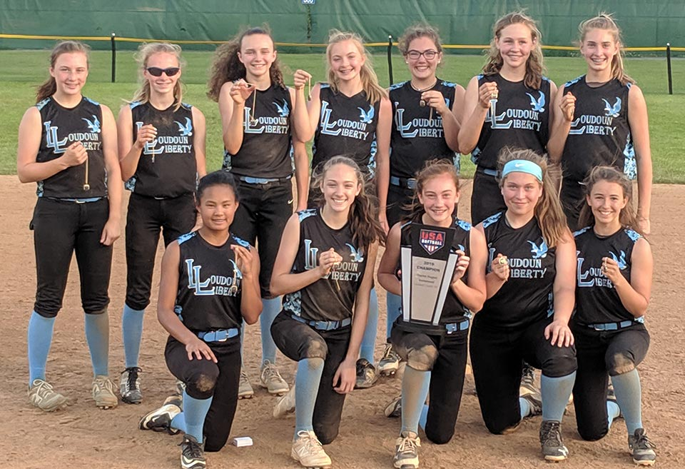 14U Liberty Blue Wins Capital Region Invitational