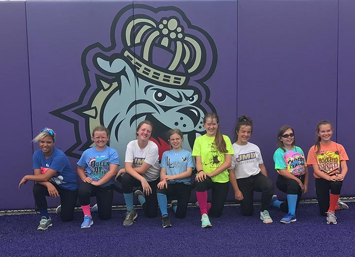 10U Liberty Meets the JMU Dukes