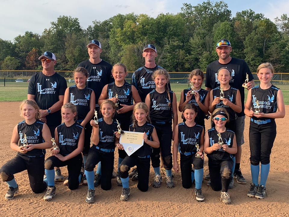 10U Liberty are Runners-Up in Stingrays Fall Classic