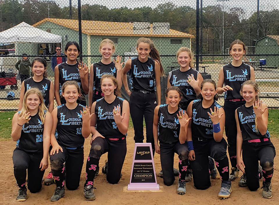 14U Liberty Black Takes the Breast Cancer Awareness Championship
