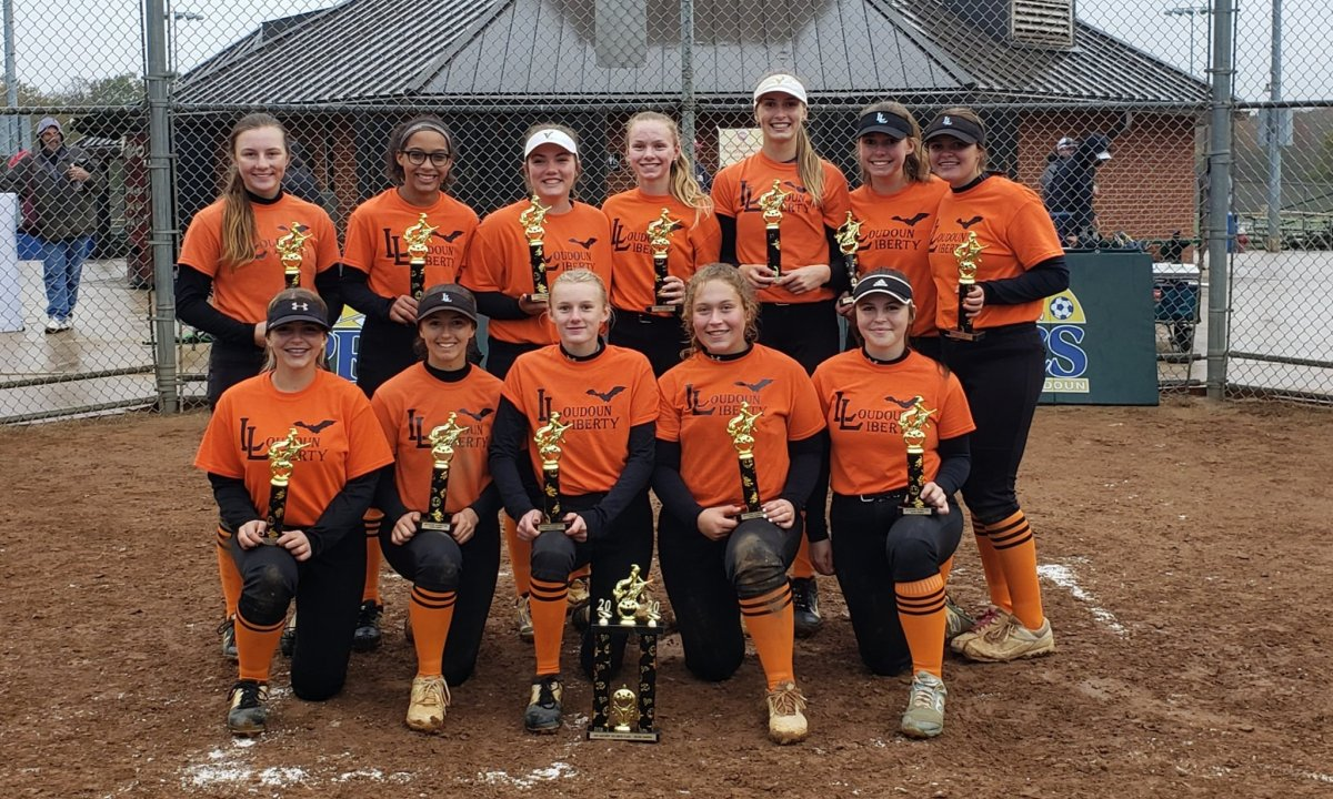 Liberty Blue are 16U/18U Baseliners Halloween Classic Champs